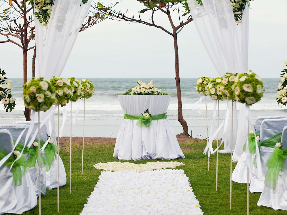 Outdoor Banquet Area, The Royal Beach Seminyak Bali - MGallery Collection