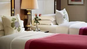 Premium bedding, in-room safe, individually decorated, blackout curtains