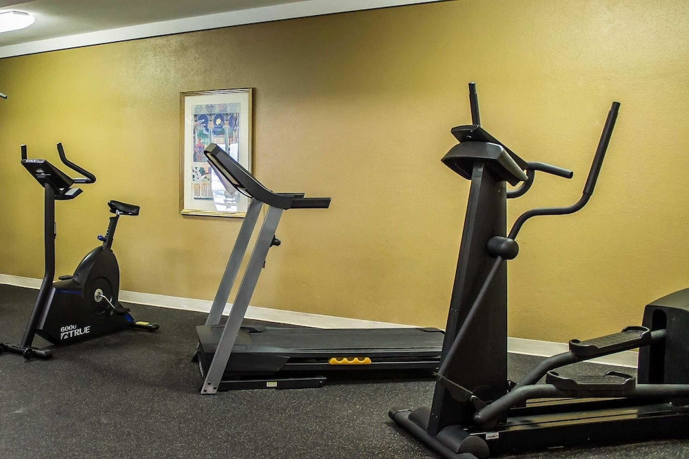 Fitness Facility, Quality Inn & Suites North
