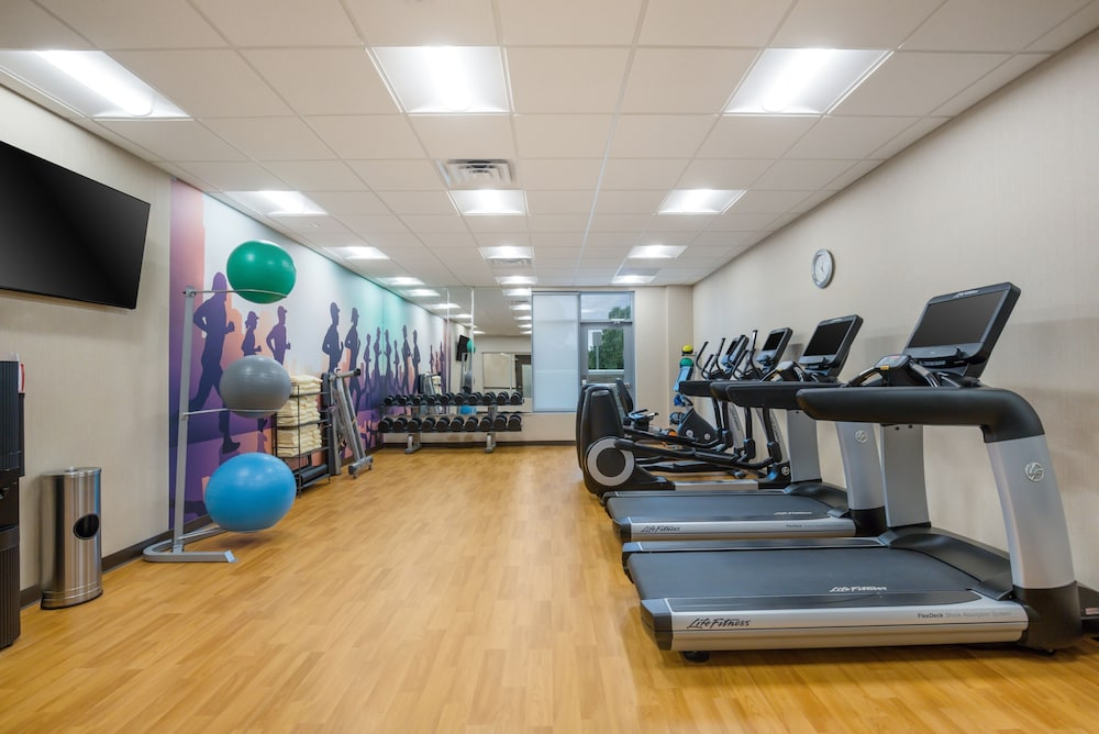 Fitness Facility, Hyatt Place Hampton Convention Center