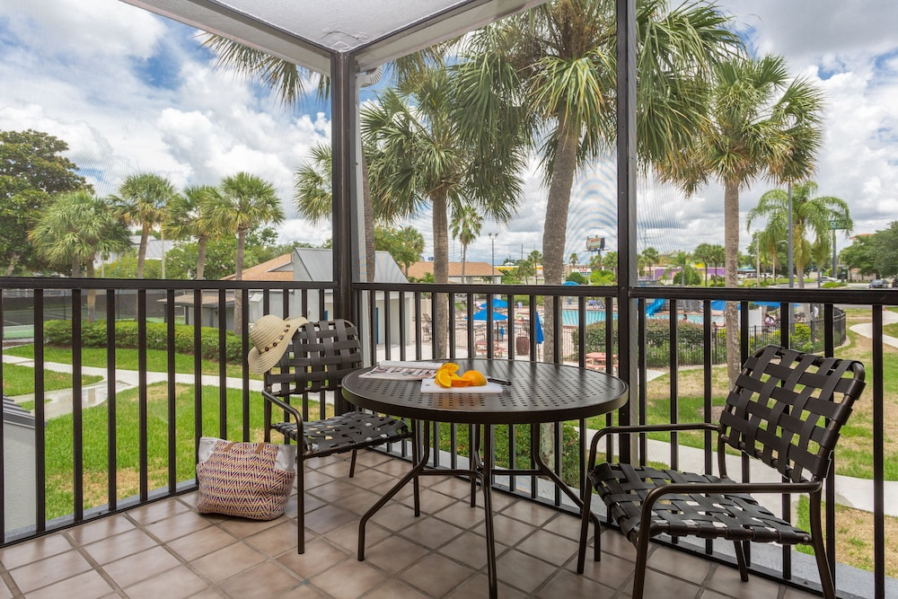 Balcony, Orbit One Vacation Villas by Diamond Resorts