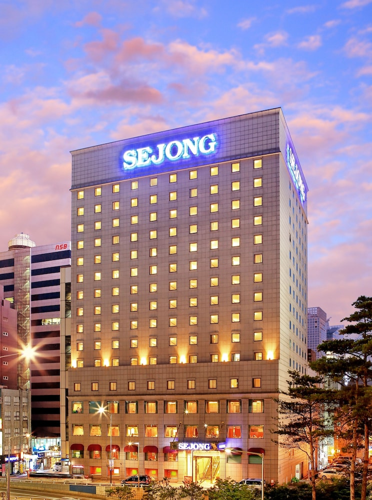Front of Property - Evening/Night, Sejong Hotel