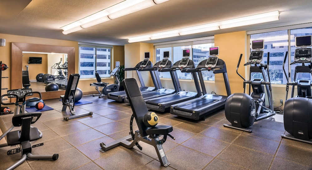 Fitness Facility, Hilton Woodland Hills / Los Angeles