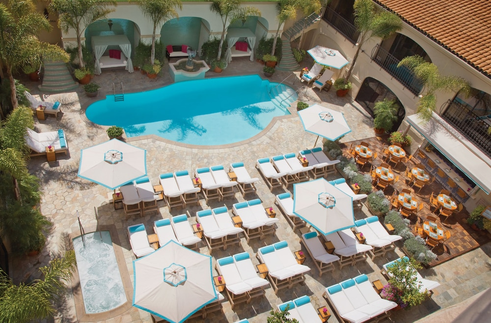 Courtyard View, Beverly Wilshire - Beverly Hills, A Four Seasons Hotel