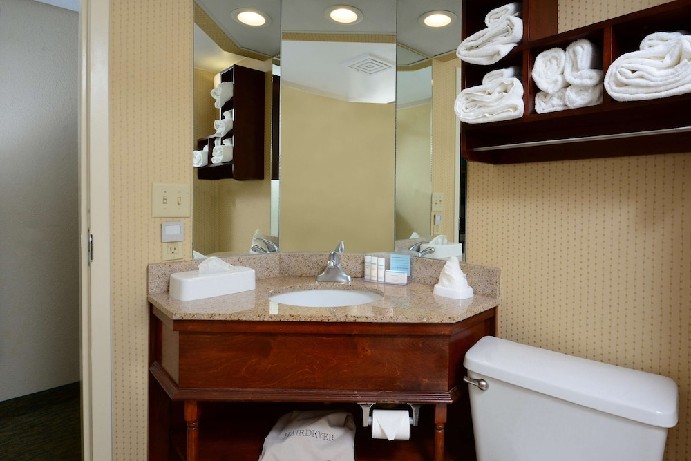 Bathroom, Hampton Inn Raleigh / Town Of Wake Forest