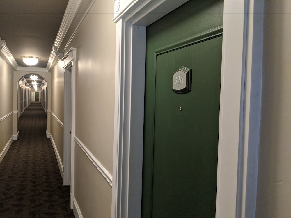 Hallway, The Willows Hotel
