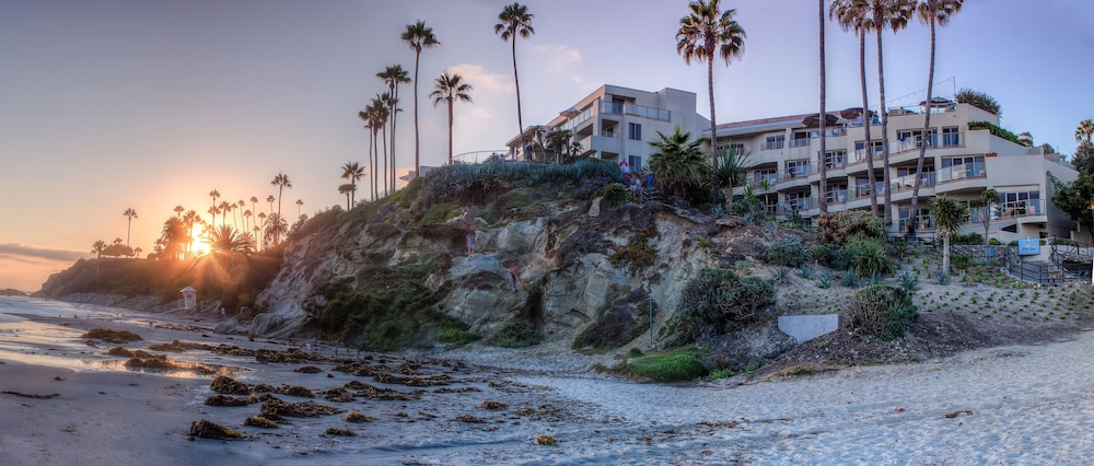 Beach, Inn at Laguna Beach