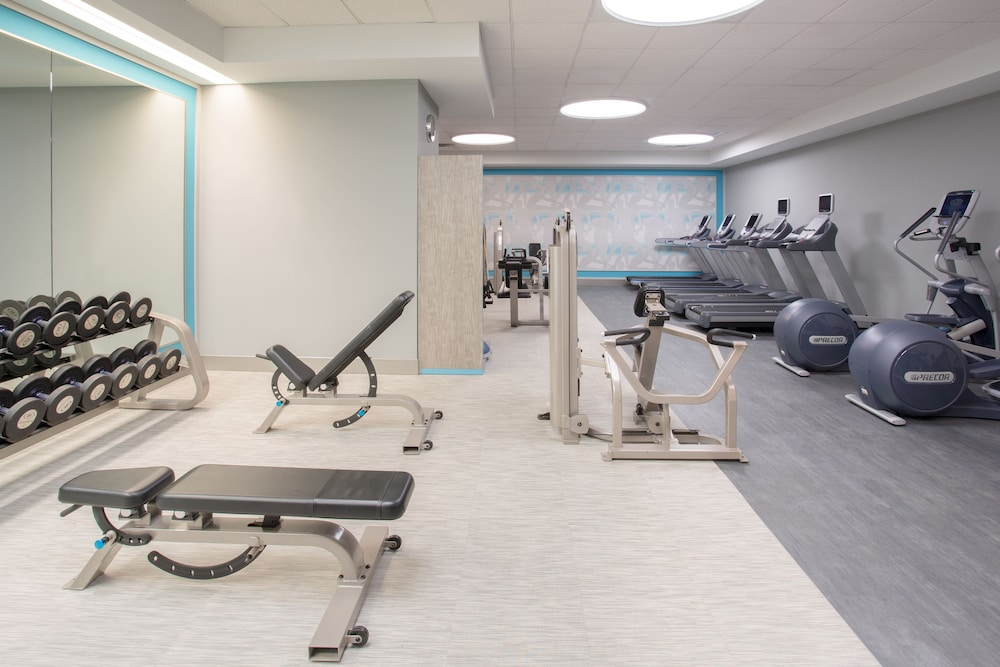 Fitness Facility, Crowne Plaza Denver Airport Convention Ctr, an IHG Hotel