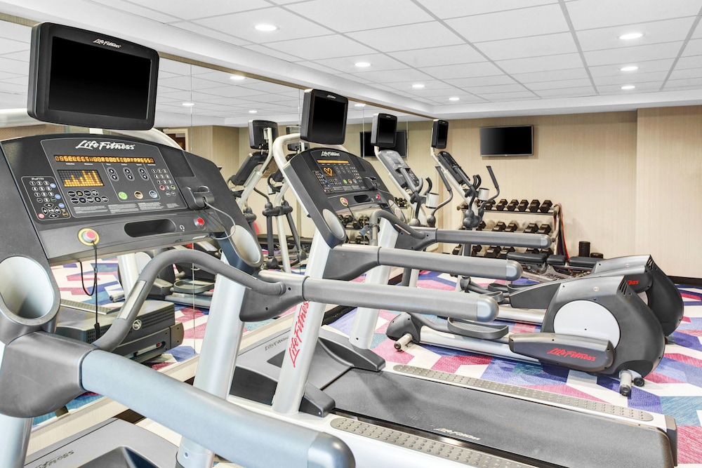 Fitness Facility, Fairfield Inn & Suites by Marriott Cape Cod Hyannis
