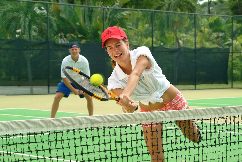Tennis Court, Golden Sands Resort by Shangri-La, Penang
