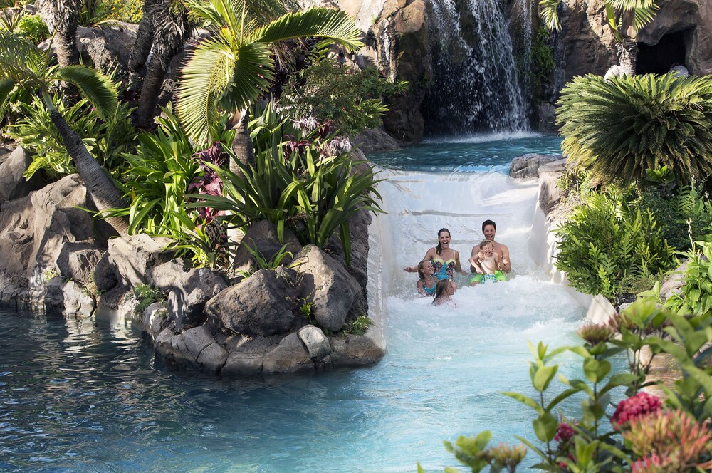 Waterslide, Grand Wailea Maui, A Waldorf Astoria Resort