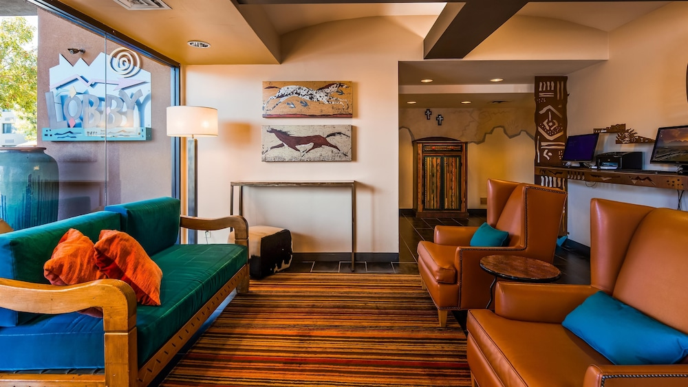 Lobby Sitting Area, Best Western Plus Rio Grande Inn