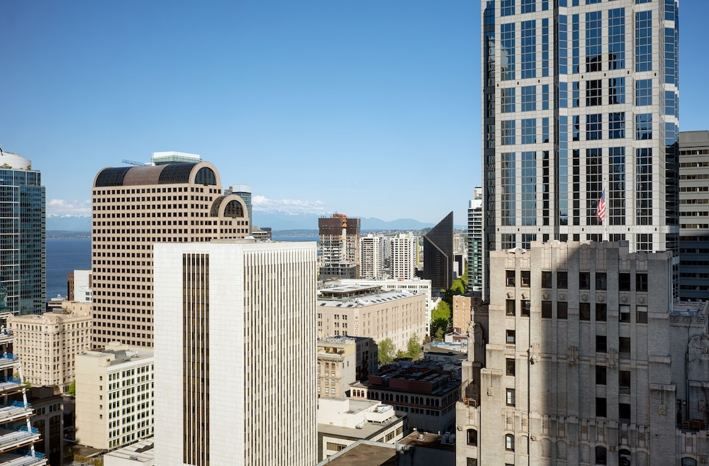View from Property, Hilton Seattle