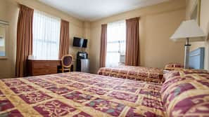 Iron/ironing board, free rollaway beds, free WiFi, linens