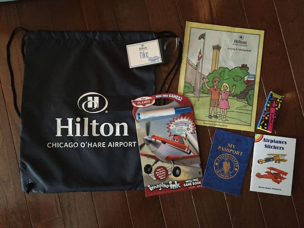 Children's Activities, Hilton Chicago O'Hare Airport