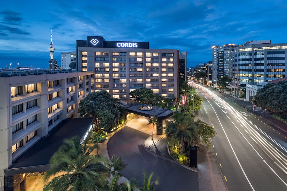 Front of Property - Evening/Night, Cordis, Auckland by Langham Hospitality Group
