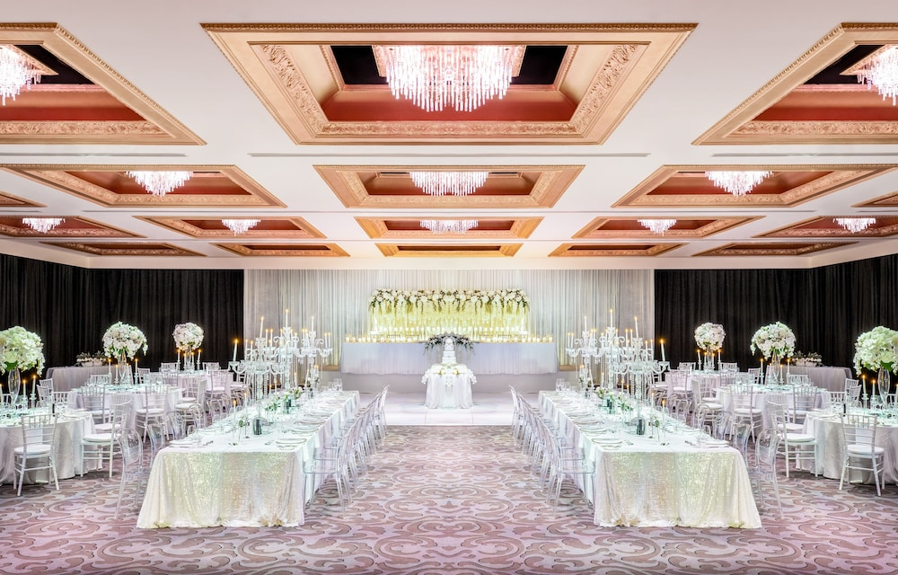 Indoor Wedding, Cordis, Auckland by Langham Hospitality Group