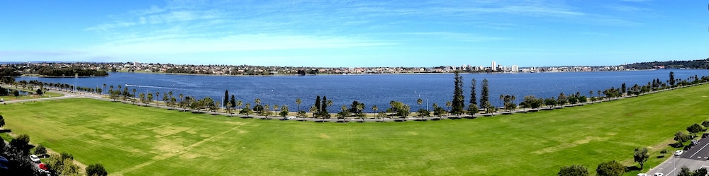 View from Property, Crowne Plaza Perth