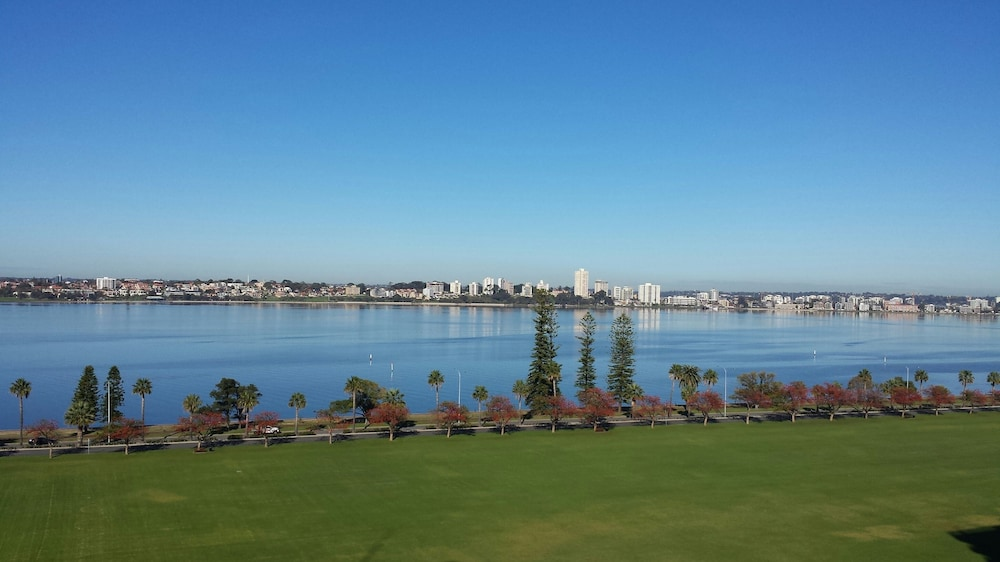 View from Room, Crowne Plaza Perth