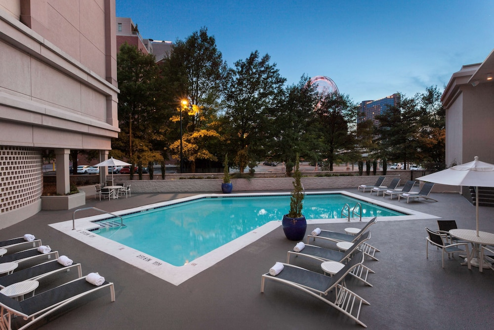 Pool, The American Hotel Atlanta Downtown - a DoubleTree by Hilton