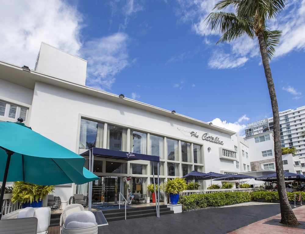 Front of Property, Catalina Hotel & Beach Club, a South Beach Group Hotel
