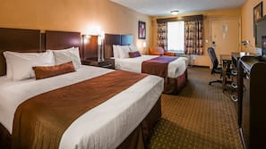 In-room safe, blackout drapes, iron/ironing board, WiFi
