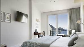Colchones Select Comfort, minibar, caja fuerte y escritorio