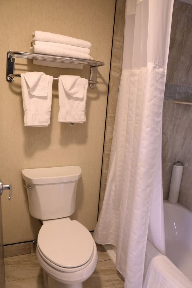 Bathroom, Quality Inn near Rocky Mountain National Park