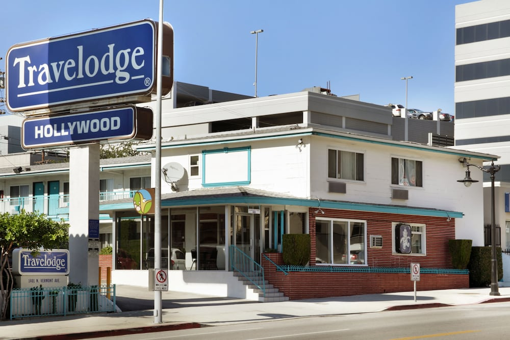 Front of Property, Travelodge by Wyndham Hollywood-Vermont/Sunset