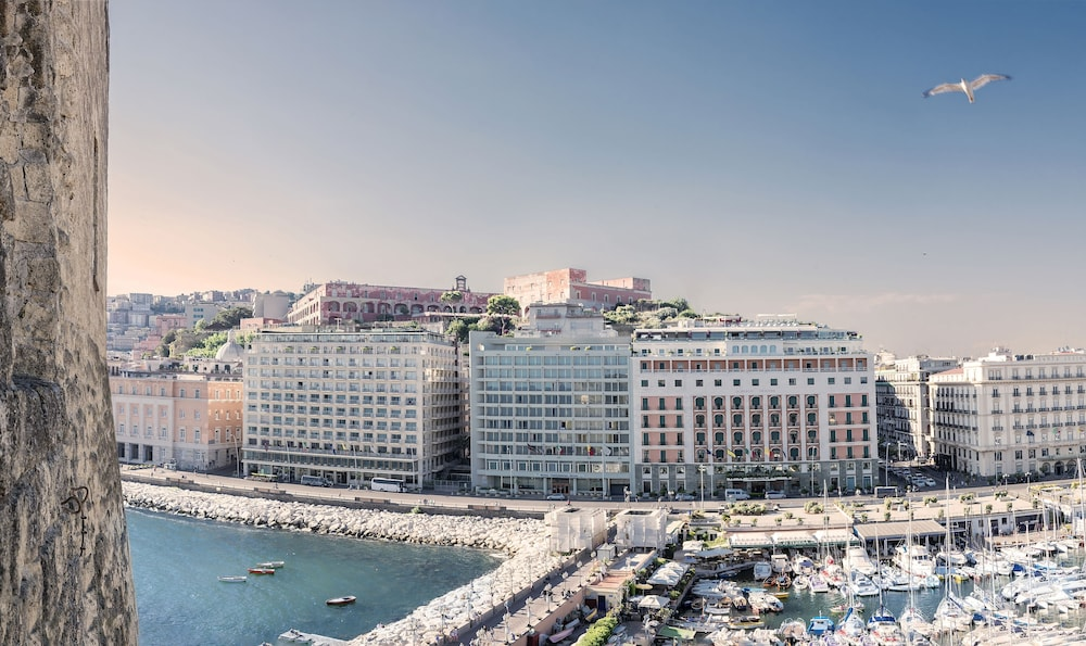 Aerial View, Royal Continental Hotel Naples