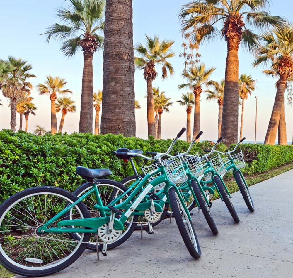 Bicycling, Hotel Galvez & Spa
