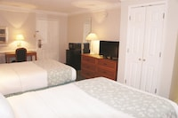 Room, 2 Double Beds, Refrigerator & Microwave