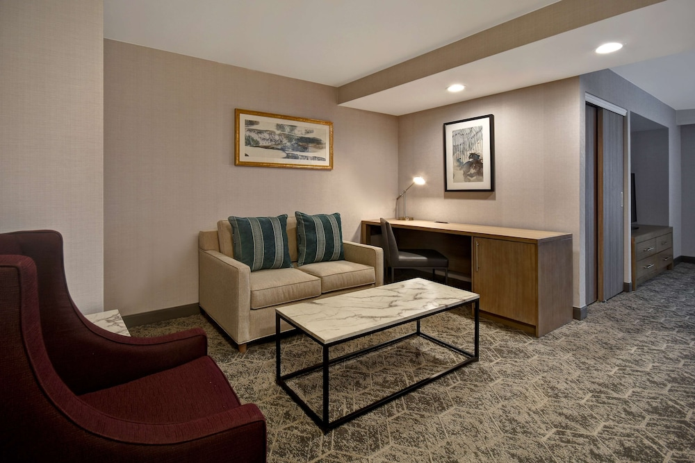 Living Area, DoubleTree by Hilton St. Louis Airport