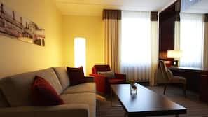 고급 침구, 미니바, 객실 내 금고, 각각 다른 스타일의 객실