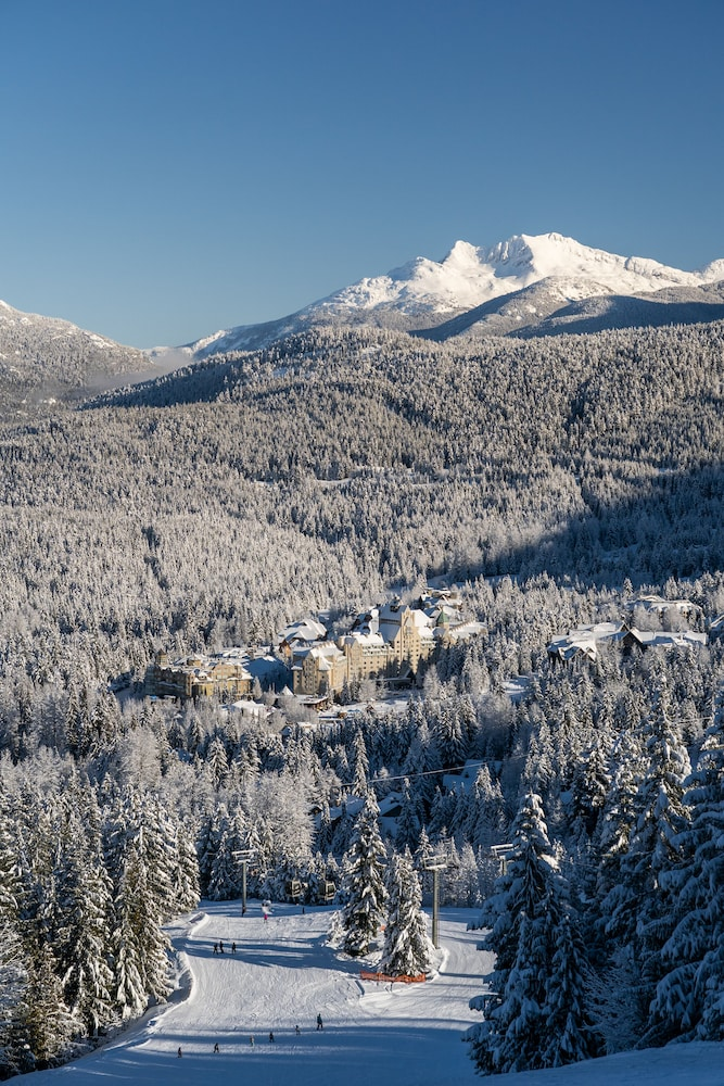 Aerial View, The Fairmont Chateau Whistler