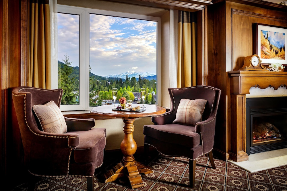 View from Room, The Fairmont Chateau Whistler