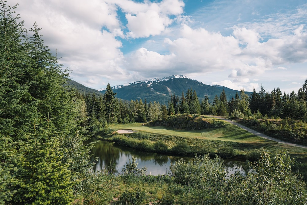 Golf view, The Fairmont Chateau Whistler