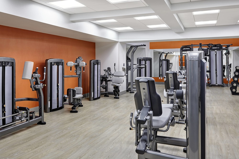 Fitness Facility, San Francisco Marriott Marquis