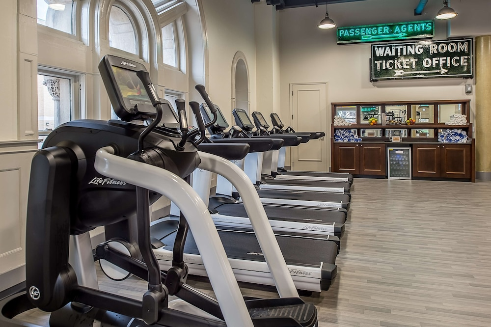 Fitness Facility, St. Louis Union Station Hotel, Curio Collection by Hilton