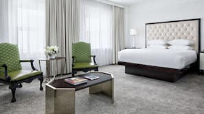 Premium bedding, pillow-top beds, in-room safe, blackout curtains