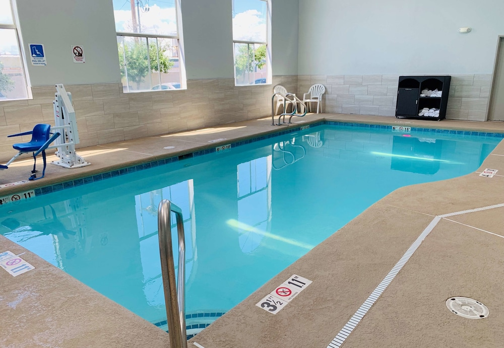Indoor Pool, SureStay Hotel by Best Western Albuquerque Midtown