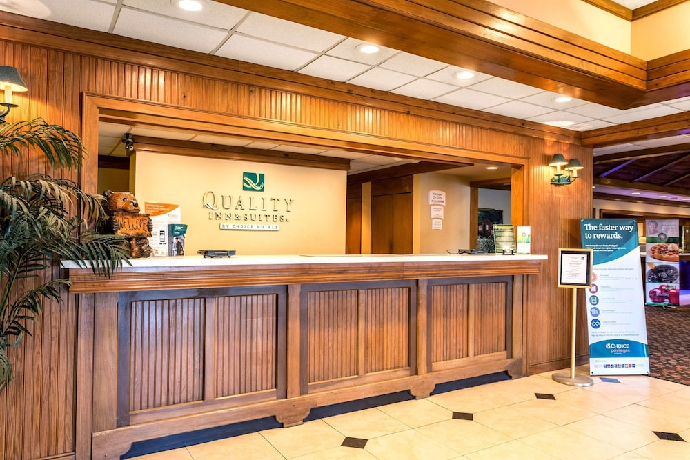 Lobby, Quality Inn & Suites Baton Rouge West – Port Allen