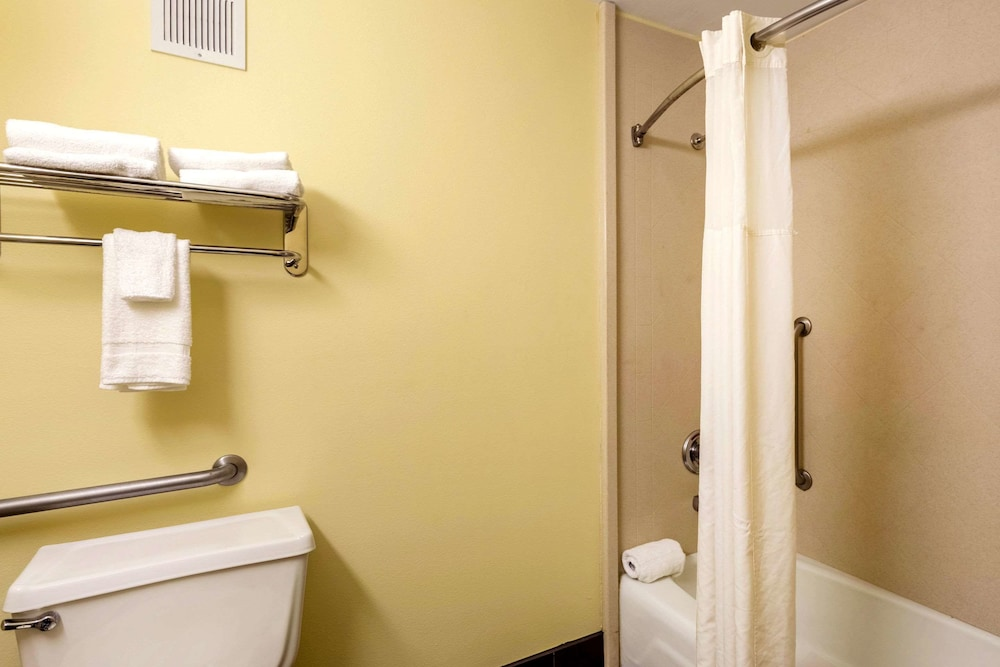Bathroom, Quality Inn & Suites Baton Rouge West – Port Allen