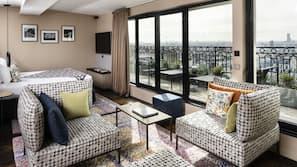 Premium-sengetøj, minibar, pengeskab på værelset, mørklægningsgardiner