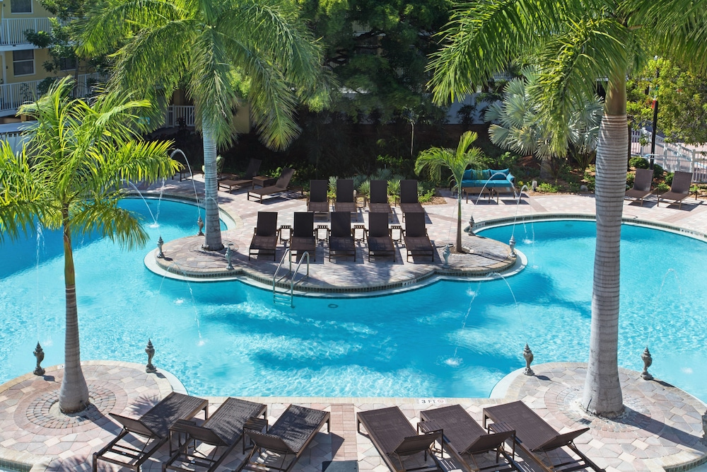 Outdoor Pool, Fairfield Inn and Suites by Marriott Key West