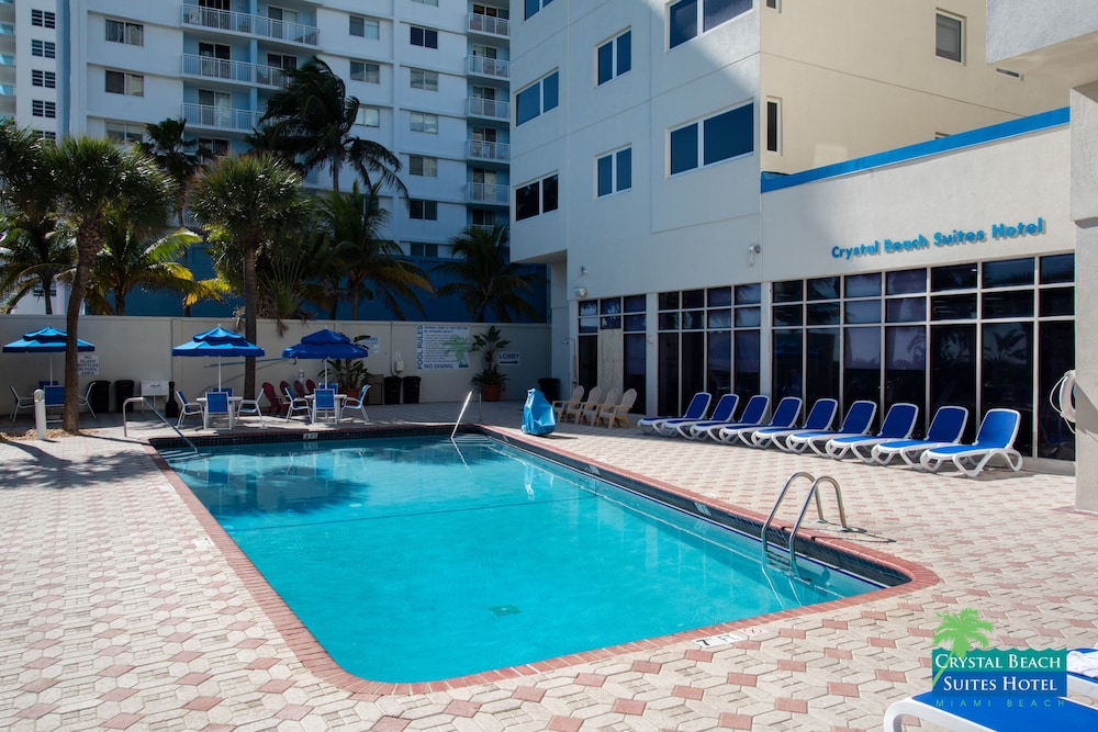 Pool, Crystal Beach Suites Oceanfront Hotel