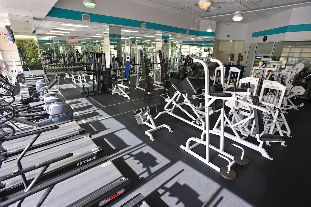 Gym, Crystal Beach Suites Oceanfront Hotel