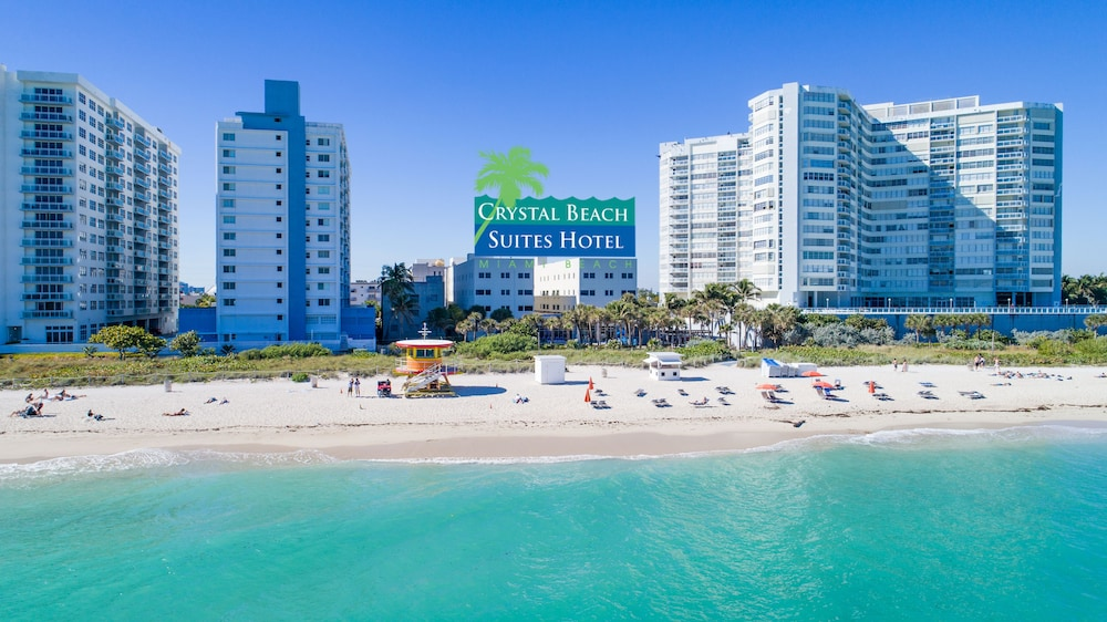 Beach, Crystal Beach Suites Oceanfront Hotel