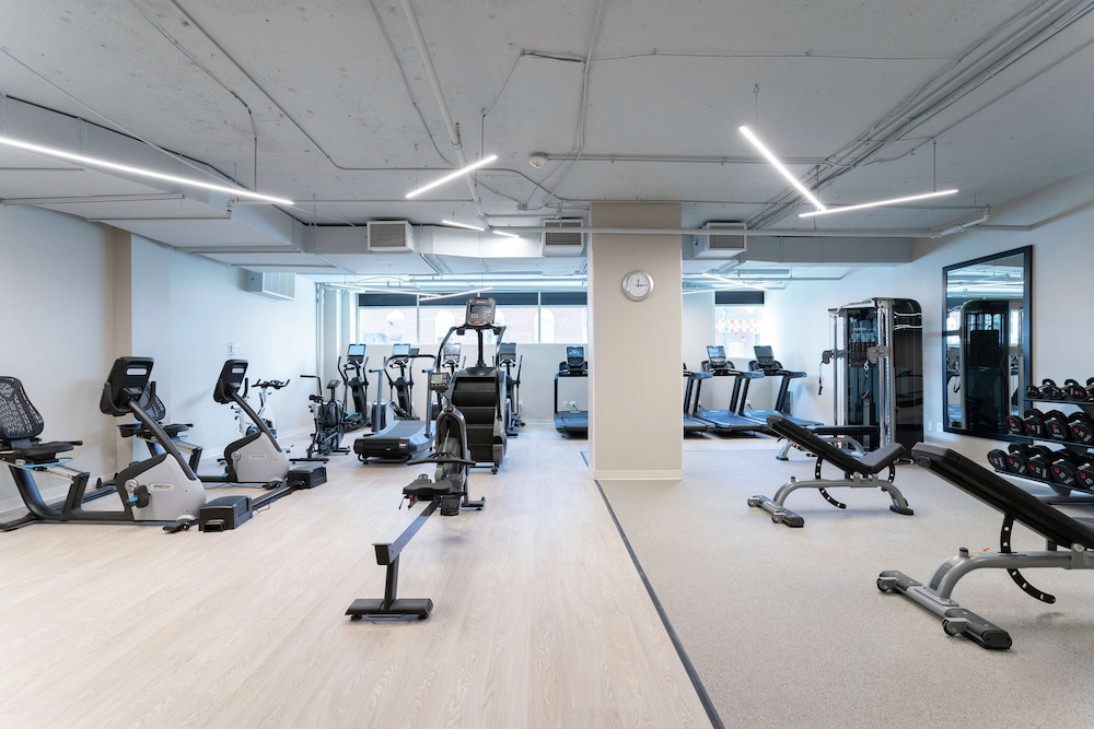 Fitness Facility, The Bethesdan Hotel, Tapestry Collection by Hilton