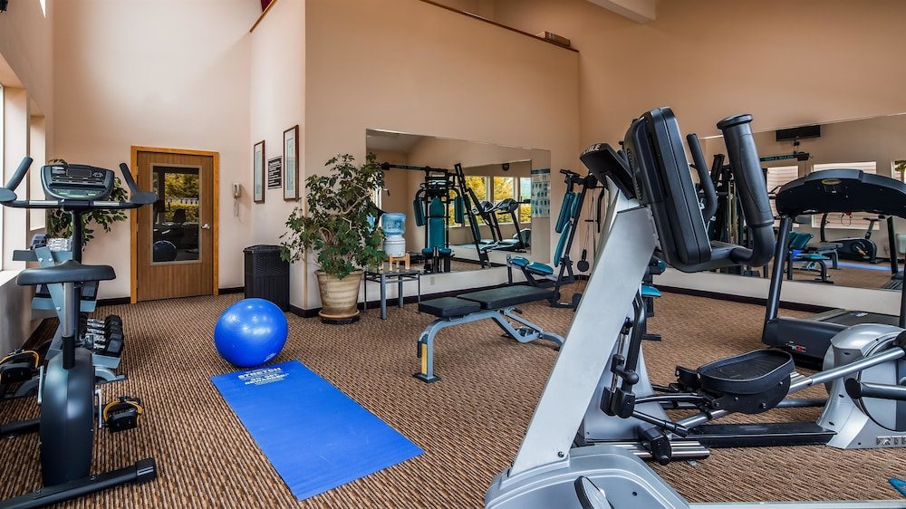 Fitness Facility, Best Western Plus Landmark Inn